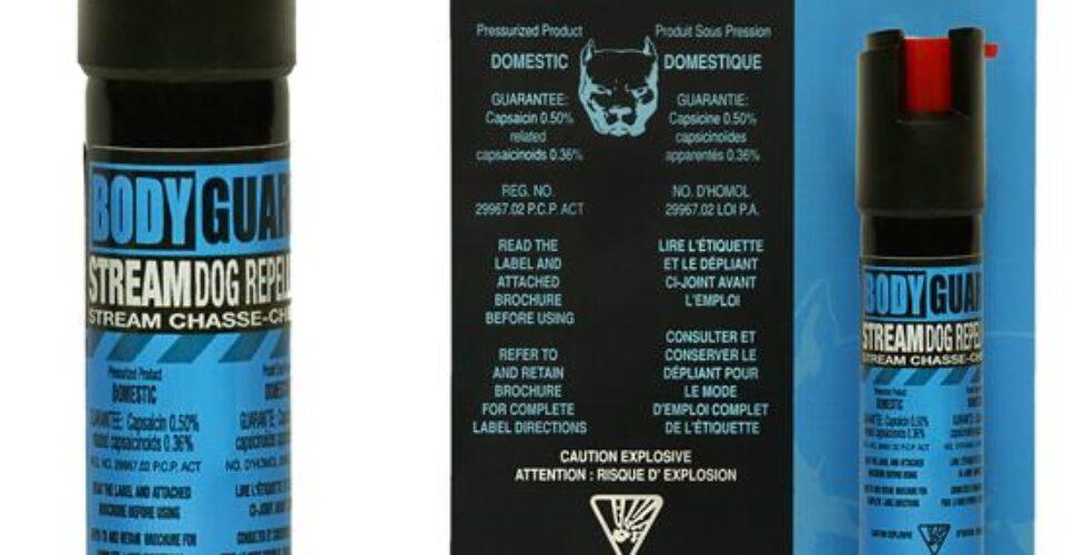 BODYGUARD™ protective dog repellent spray 20g